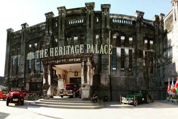 the heritage palace