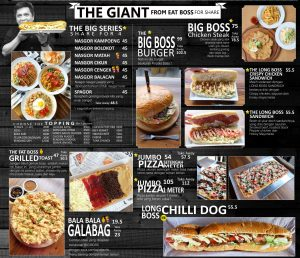 harga menu eat boss